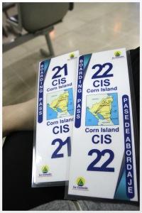 Tickets to Corn Island