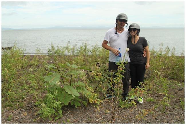 Romantic photo in Ometepe