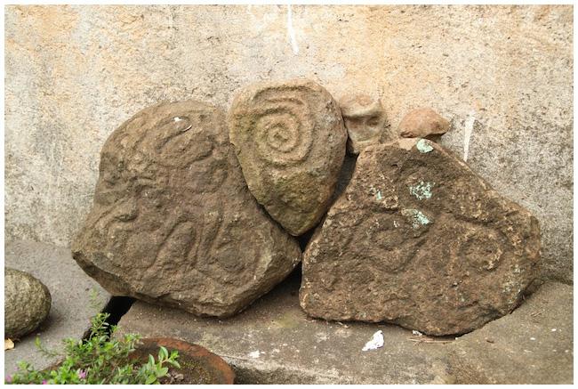 Petroglyphs at Finca Magdalena, Ometepe