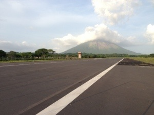 This will be the runway for Ometepe's airport