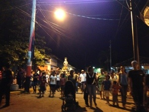 Chased by a mob and a virgin in Moyogalpa, Nicaragua
