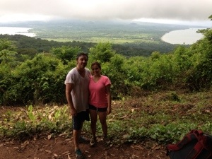 Maderas, Ometepe hike viewpoint