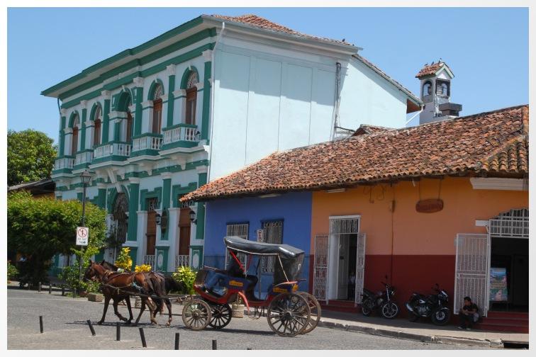 A carriage ride in Granada, Nicaragua