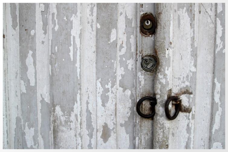 Old locks, old handles in Granada, Nicaragua