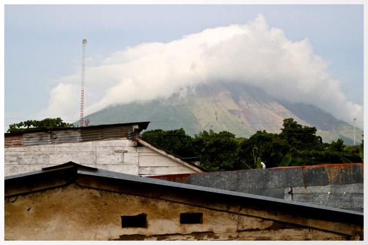 A room view of Concepcion, Ometepe, Nicaragua