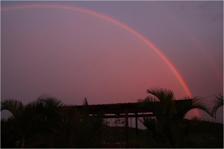 san juan del sur nicaragua rainbow