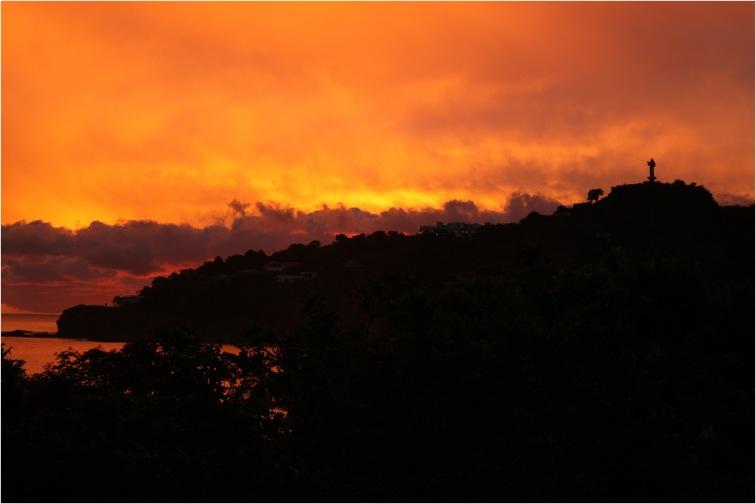 San juan del sur sunset nicaragua