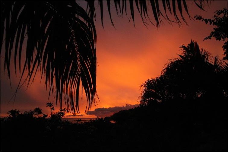 san juan del sur nicaragua sunset