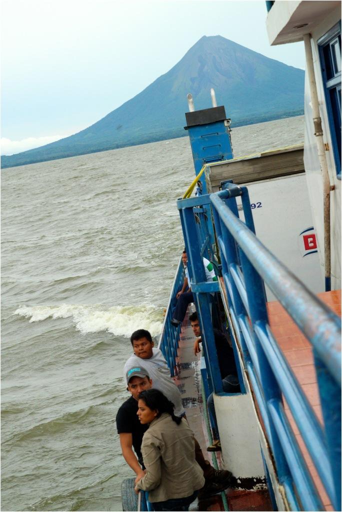 concepcion ometepe ferry nicaragua